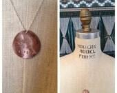 ad astra per aspera necklace