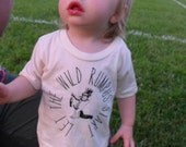 baby toddler t shirt  in super soft 100% cotton tees where the wild things are max