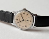 Vintage mens wristwatch Pobeda from Soviet Union time