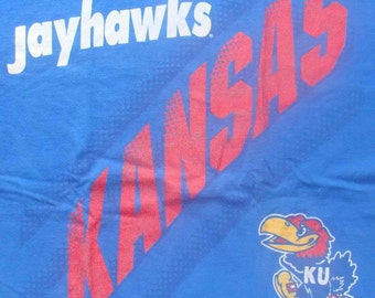 Vintage 90s KANSAS UNIVERSITY JAYHAWKS T shirt