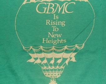 Vintage 86 Greater baltimore Medical Center GBMC Summerfest Green T Shirt