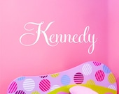 Personalized Childrens Wall Decal - Name Wall Decal - Childrens Decor Vinyl Wall Lettering for Boys or Girls Rooms