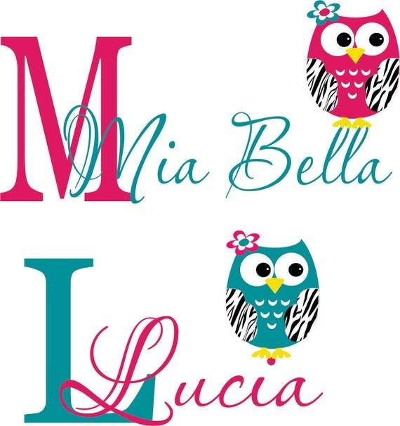 Custom listing for Mia Bella & lucia Jungle Decals