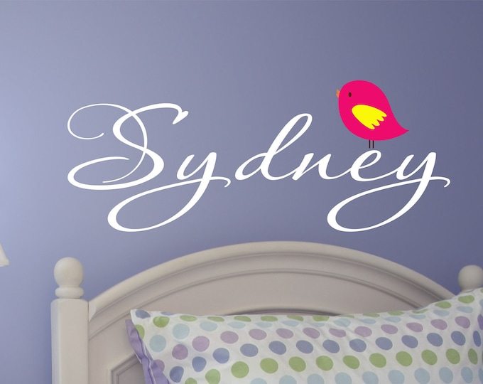 Nursery Name Decal Personalized for your Babys room available in 35 colors