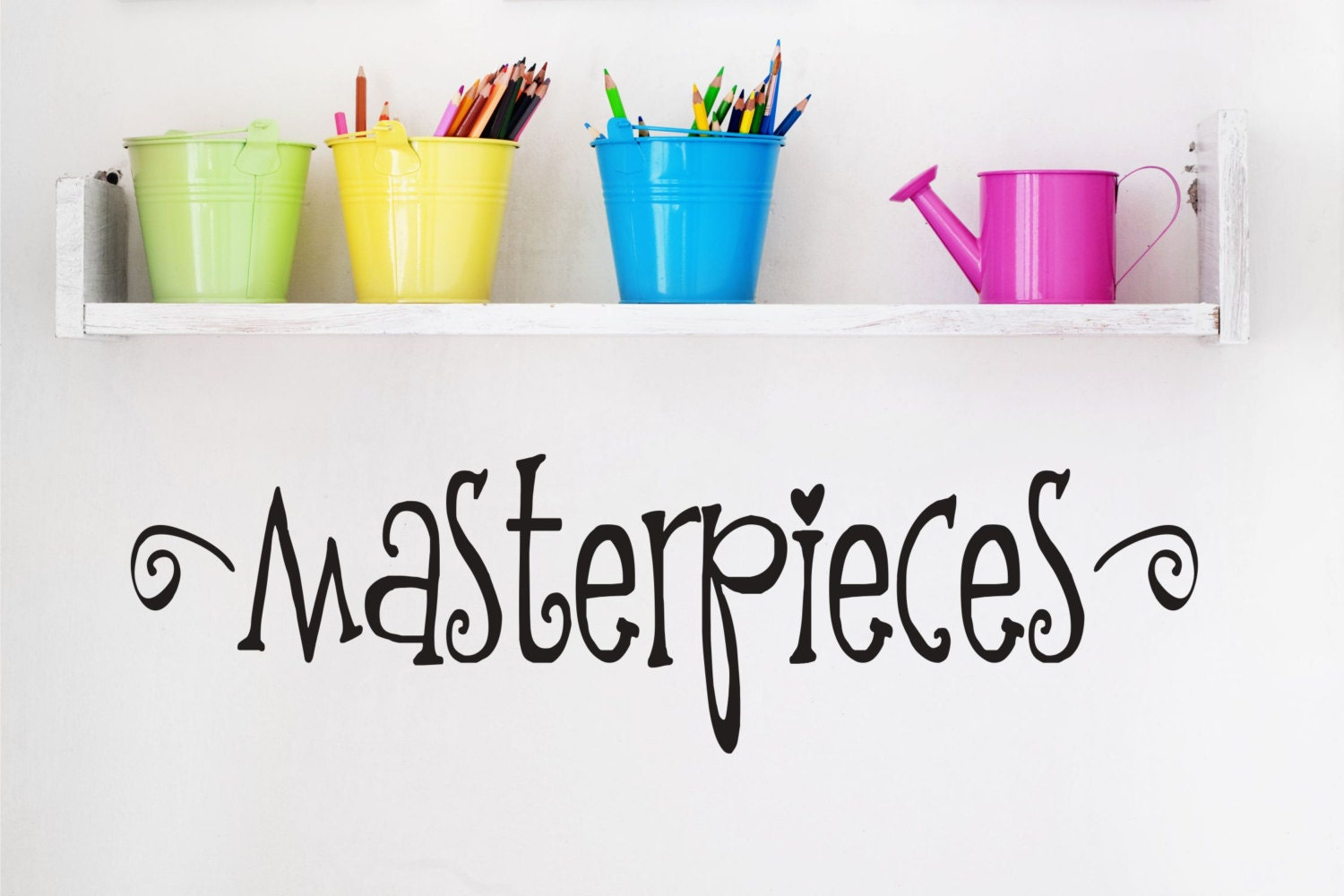 Masterpieces wall decal childrens wall decals playroom for Childrens wall mural stickers
