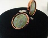 Massie Renior copper clip earrings