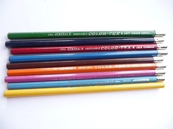 Color me happy....Vintage Colored Pencils