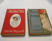 2 Vintage Victorian Books