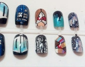 Doctor Who Nail Art Set