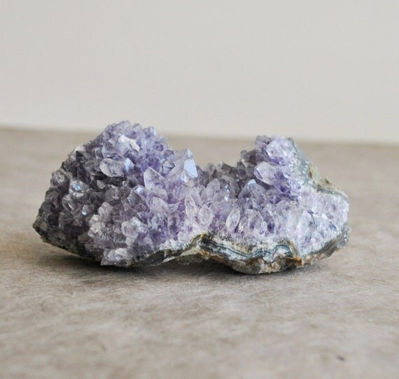 1 pc amethyst points cluster from brazil