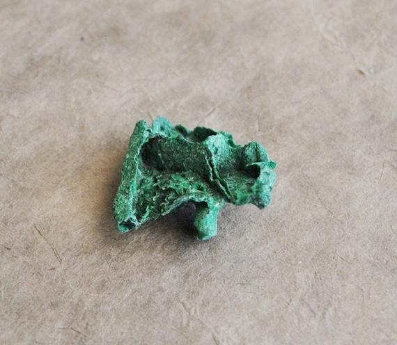1 pc chrysocolla curiosity piece