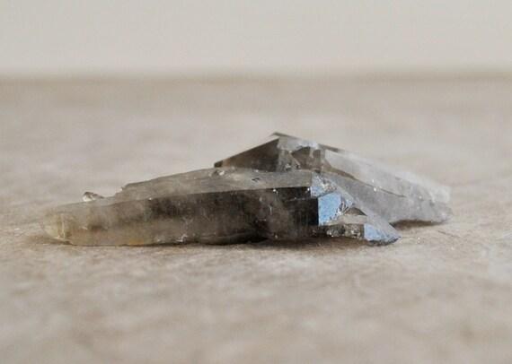 irradiated smoky quartz from arkansas 1 spectacular pc