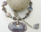 GREY STONE Necklace