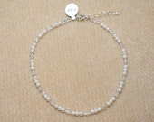 Infant Freshwater Pearl and Swarovski Crystal Necklace- 0-24 mths