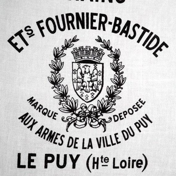 Screen Printed Tea Towel - Vintage French Grain Sack Inspired
