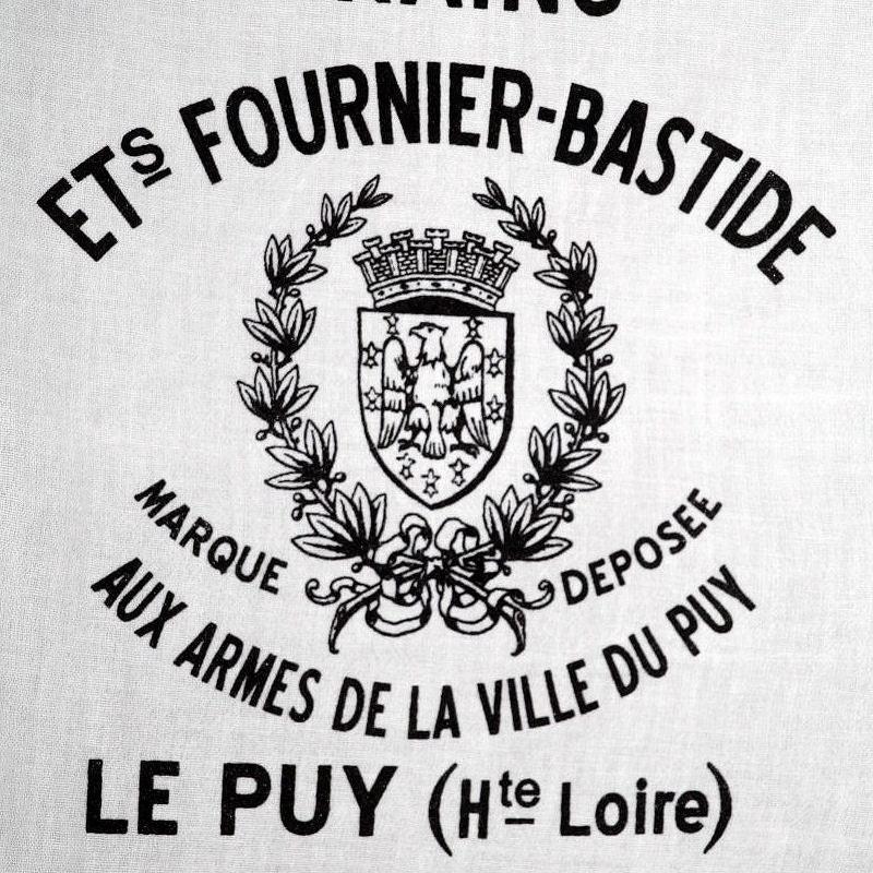 Screen Printed Tea Towel Vintage French Grain Sack Inspired