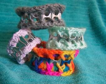 Crochet Soda Tab Bracelet