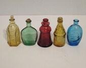 Vintage Mini Wheaton Collectible Bottles
