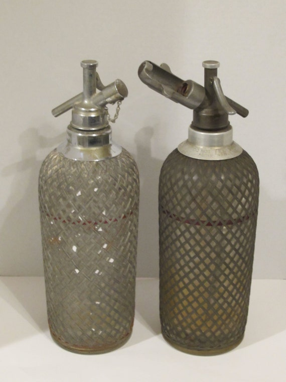 Vintage Seltzer Bottle 45