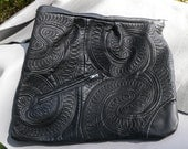 Large Leather Clutch/Note Book Bag