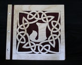 Personalized Heart Celtic Knot border