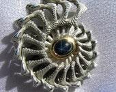 Linked fractal shell pendant