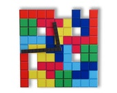 Tetris Wall Clock Game