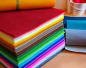 Irisfelt The Collection- 63 wool felt pieces15x20cm -