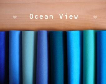 Felt sheets - Ocean View -Irisfelt Collection- 8 pieces 15 x20cm