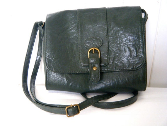 Forest Green Satchel Bag