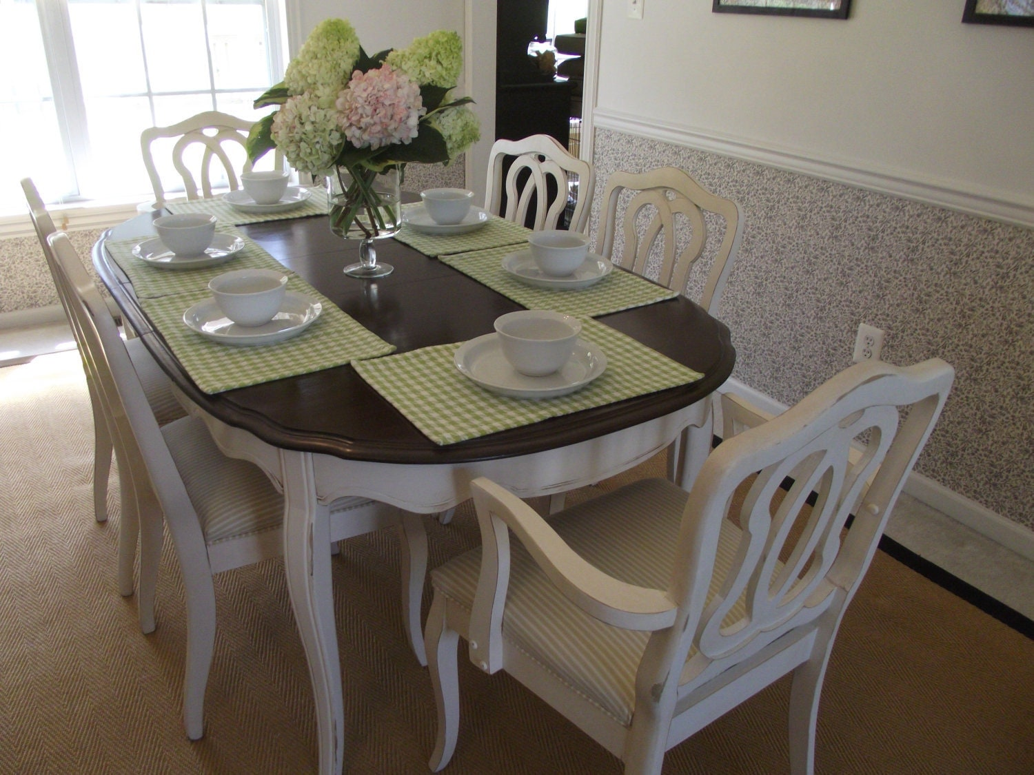 Il Fullxfull Vintage French Provincial Dining Room Table Chairs