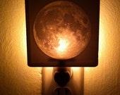 Moon Lithophane Night Light