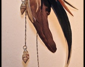 RESERVED for CoriJc - Ocean Fae earcuff, Ocean Priestess choker
