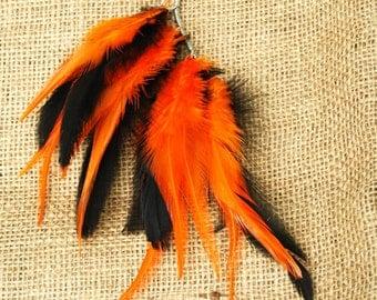 Feather Ear Cuff -  Halloween