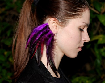 Feather ear cuff - Venus