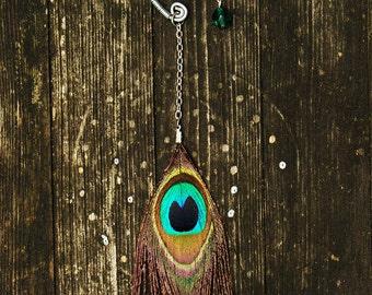Feather Ear Cuff - Eye