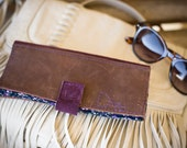 Women's Leather CheckBook Wallet