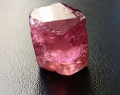 Pink Tourmaline natural crystal. Dark pink. 60 plus cts.