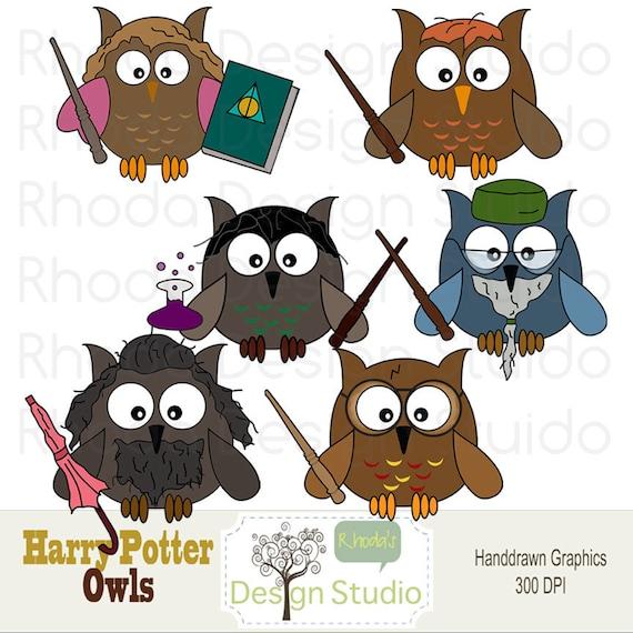 Owl Clip Art Harry Potter Digital Cartoon Birds