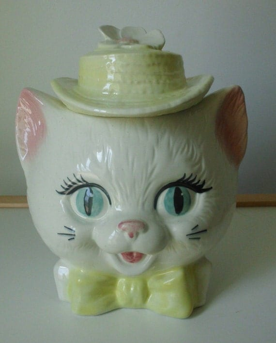 Cat In The Hat Cookie Jar