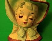 BEAUTIFUL VINTAGE Napco 1959 head vase