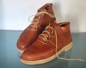 Handmade Leather Lightweight Hiking Boots for Women - Wandler style