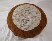 Round Meditation Pillow Cover