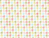 Happy Houndstooth in Multi, Bella Butterfly fabric, Patty Sloniger for Michael Miller, 1 yard