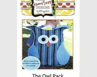 Owl backpack Pattern