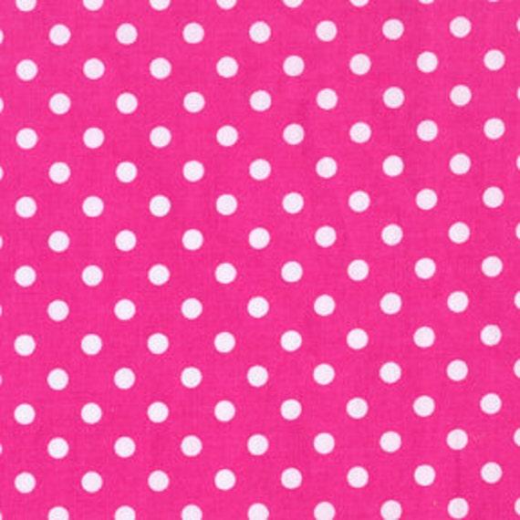 Dumb Dot in Fuchsia, Michael Miller fabric, 1 Fat Quarter