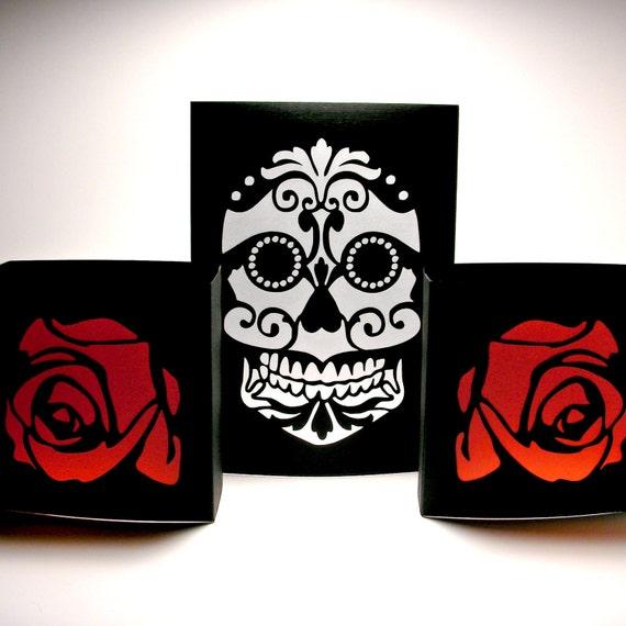 Sugar Skull Luminaries - Day of the Dead - Dia de los ...