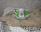 Pretty Vintage Demitasse - Mini Tea Cup & Saucer - SHARED SHIPPING