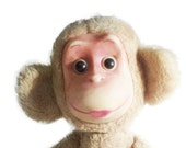 """ADORABLE vintage 18.5 """"MONKEY TOY, her name is Sasha . Use her for mixed media art, photography projects, or company."""