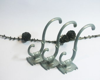 Vintage WALL HOOKS use for home decor, assemblage, altered art.